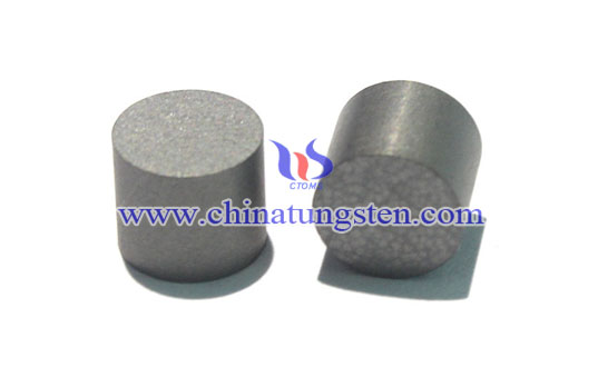 Tungsten carbide stud pins in snowmobile Picture